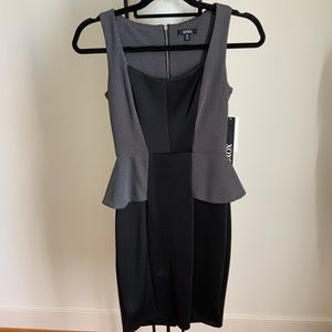 XOXO Peplum Dress 0